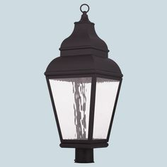 Buy the Livex Lighting Bronze Direct. Shop for the Livex Lighting Bronze Exeter 1 Light LED Outdoor Lantern Post Light and save. Fence Lighting, Livex Lighting, Outdoor Lighting, Lamp Post Lights, Wall Lights, Ceiling Lights, Lantern Post, Led Lantern, Outdoor Post Lights