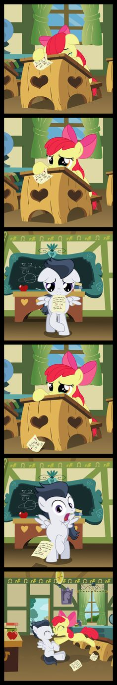 Applebloom 's  - A happy end to hearts and hooves by matty4z.deviantart.com on @deviantART
