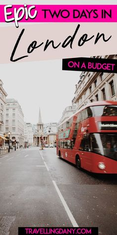 A useful sightseeing guide to spend 2 days in London (Great Britain) on the cheap, with the most updated information on what you can do for free and how to make the most out of your trip on a budget. The itinerary includes info on the instagrammable spots and all the must-see. | #London #Europe #UK #Greatbritain