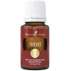 Shop YL Thieves essential oil here! : : Young Living thieves oil is a blend of clove, lemon, cinnamon, eucalyptus, and rosemary. Learn about pure therapeutic-grade thieves essential oil uses. Buy now! Myrtle Essential Oil, Basil Essential Oil, Thieves Essential Oil, Pure Essential Oils, Young Living Essential Oils, Young Living Thieves Oil, Therapeutic Grade Essential Oils, Pure Products, Young Living