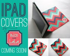 iPad Covers by Nico and Lala