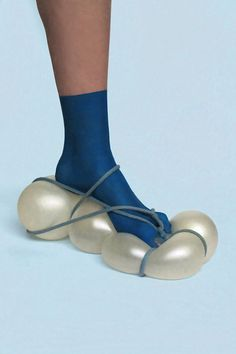 Strange and Sexy Footwear Inspired by Vintage Sci-Fi Films | Moon Crawler Moon Scope