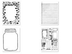 Hand Stamped Junk Journal Bundle Printables Complete KIT SALE 50% Off!
