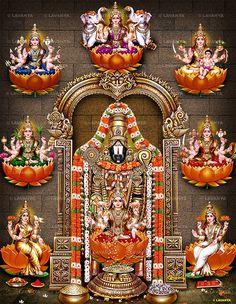 🌹Balaji🌸 Astalakshmi 🎈🙏🏻 ♡ ॐ Lord Murugan Wallpapers, Lord Shiva Hd Wallpaper, Lord Krishna Wallpapers, Lakshmi Photos, Lakshmi Images, Durga Images, Lord Ganesha Paintings, Lord Shiva Painting, Ganesha Art