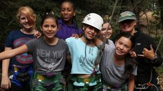 Outrageous summer camps for kids: Girl Power sleepover camp by Pali Adventures