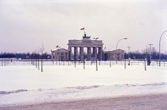 Brandenburg Gate - East Berlin - January 1968