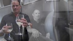 """""""Ghost in the winery"""" Still from American Spirits - Sort This Out Cellars video. Michael Cobb in winery. Solvang, CA."""