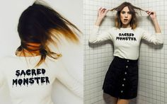 "Alexa Chung for AG Denim - ""Sacred Monster"": das coolste Shirt der Saison!"