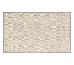 Chenille Jute Solid Border Rug - Gray from Pottery Barn Kids. LOVE this! Price is excellent $399 for 8 x 10