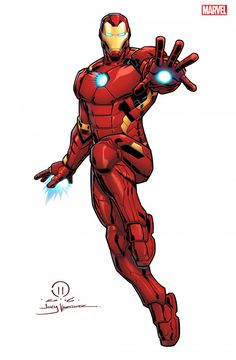 This is the very first official piece of art I've drawn for Marvel. Really happy with how this Ironman came out. So after a year of not being able to show anything I'm excited to reveal what I've been working on for Marvel. In May of last year Marvel Comics, Marvel Art, Comic Kunst, Comic Art, Iron Man Marvel, Iron Man Kunst, Iron Man Fan Art, Iron Man Drawing, Avengers Cartoon