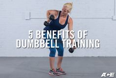 Using dumbbells for full-body, multiplanar movements can provide a variety of different strength outcomes. It also offers many benefits for cardiorespiratory fitness and flexibility. To help you select the best equipment for your needs, here are five benefits of using dumbbells, along with six great dumbbell exercises to try out.