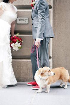Artistic, Funky, Brooklyn wedding -  Bride,  Groom,  Grey