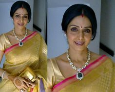 Jewellery Designs: Sridevi in Begani Jewellers Diamond Set