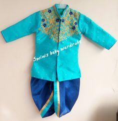 Indian Dresses For Kids, Kids Indian Wear, Kids Ethnic Wear, Wedding Dresses For Kids, Mom And Son Outfits, Baby Boy Outfits, Kids Outfits, Baby Boy Dress, Toddler Dress