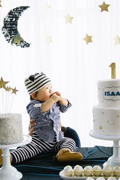 The cutest idea: Twinkle Twinkle Little Star 1st birthday