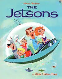 Retro Futurism - The Jetsons book. Meet George Jetson, his boy Elroy, daughter Judy. Jane, his wife. My Childhood Memories, Sweet Memories, 90s Childhood, Os Jetsons, Emission Tv, Comics Illustration, Book Illustrations, Cartoon Photo, Photo Vintage