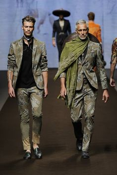 Etro Man Spring Summer 2014 Fashion Show | Di Nozze