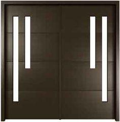 1000 images about doors on pinterest front doors for Modern single main door designs
