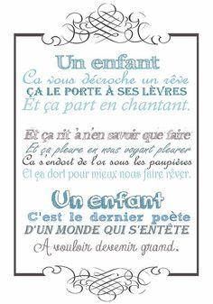 11 Meilleures Images Du Tableau Texte Naissance Je