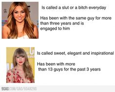 Miley Cyrus and Taylor Swift - funny pictures - funny photos - funny images - funny pics - funny quotes - funny animals @ humor Funny Images, Funny Pictures, Funny Pics, Caption Pictures, Taylor Swift Funny, Deceit, Miley Cyrus, That Way, True Stories