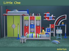 Sims 4 CC's - The Best: Little One - Kidsroom by Soloriya