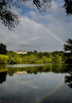 Rainbow at the Biltmore House - Ashville North Carolina
