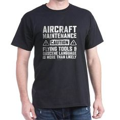 Take a look at this nice Aircraft Maintenance C T-Shirt