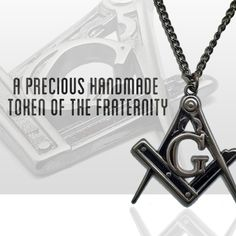 Created to honor the biggest and oldest fraternal Organization. A precious handcrafted Freemasonry pendant for every degree.     SHOP NOW !!!!!! : http://freemasonry-cg.com/masonic-jewelry/