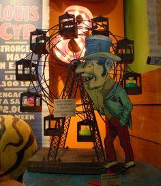 dark carnival themed canvas art | Circus Theme