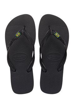 Havianas: Brazil Flip Flops - Black