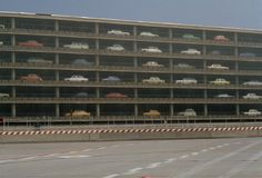 Retronaut - Frankfurt Airport Car Park 1970's