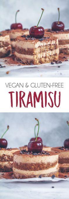 vegan & gluten-free tiramisu