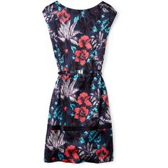 Marc by Marc Jacobs Havana Floral Silk Dress