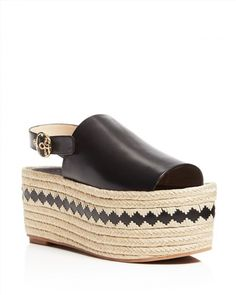 350.00$  Watch here - http://visut.justgood.pw/vig/item.php?t=jdrpihe1930 - Tory Burch Dandy Espadrille Platform Slingback Sandals 350.00$
