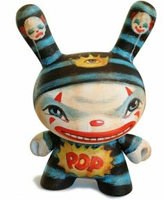 Popclown figure by 64 Colors.