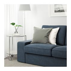 KIVIK Loveseat - Hillared dark blue - IKEA