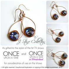 I entered to win these earrings from The J. Stone Collection  - pinned on 8/19/13