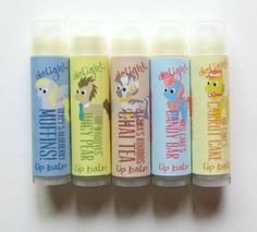 MLP Background Favorites Lip Balm Set by DelightNaturals on Etsy, $9.50