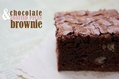 Chocolate And Toasted Pecan Brownie - Cook Republic