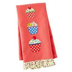 cupcake towel from pier 1