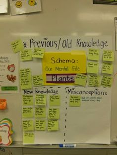 Great anchor chart for schema