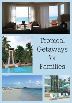 Are you thinking of taking a tropical getaway with your family soon? Check out our favorite destinations and hot spots including the Bahamas, the Carribean, Aruba, and more!