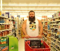 In an average day, professional strongman Robert Oberst consumes up to 20,000 calories to power himself through hours of punishing training. He shows us what fuels him from the gym to the kitchen.