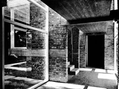 Ham Common Apartments, London, England, 1954-58    (James Stirling and James Gowan)