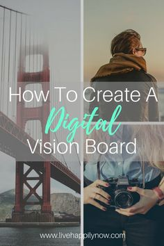 Wish you could take your vision board where ever you go? Learn how to create a digital vision board that you can save to your phone or desktop.
