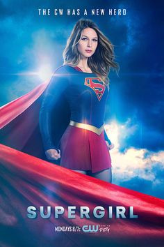 "Supergirl is shooting us, if not ""Blue Steel,"" Girl of Steel, in the first poster touting her arrival on The CW. Premiering Monday, Oct. 10 at 8/7c, Season 2 of the superhero drama find…"