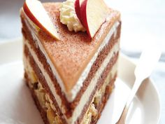 Our favorite recipe for winter apple pie and more than more . - Kuchen und Torten Rezepte - gateaux et desserts Food Cakes, Cupcake Cakes, Cupcake Recipes, Apple Pie Recipes, Sweet Recipes, Baking Recipes, Winter Torte, Naked Cakes, Cake & Co