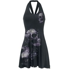 Dead Flowers - Kurzes Kleid von Alchemy England