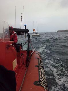 Activada la base de Cruz Roja del Mar del #Arriluce, a petición de Salvamento Marítimo