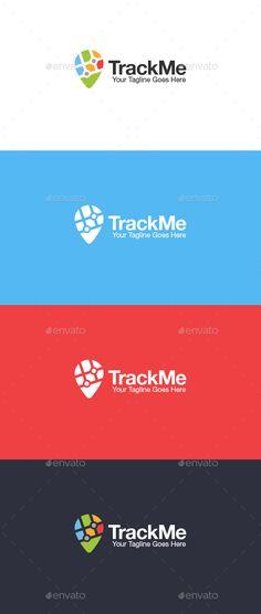 Track Me Logo Template Vector EPS, AI. Download here: http://graphicriver.net/item/track-me-logo/14908484?ref=ksioks